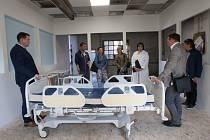 Setkání s hejtmanem Libereckého kraje Martinem Půtou proběhlo v prostorách liberecké nemocnice.