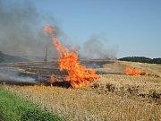 Dnes, tedy 1. srpna, krátce před třetí hodinou odpolední vypukl požár v části obce Stružinec na Semilsku.