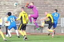 Béčko Slovanu nezvládlo penalty proti Ústí nad Orlicí.