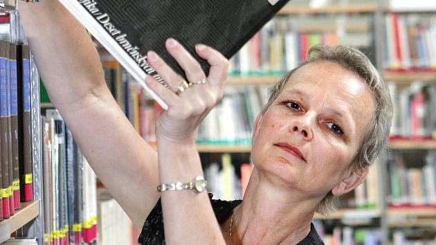 Blanka Konvalinková, ředitelka Krajské vědecké knihovny v Liberci.