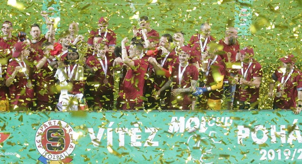 Sparta slavila v Liberci vítězství.