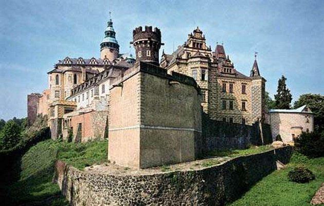 Frýdlantský státní hrad a zámek.