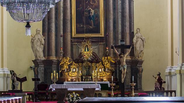 Chrám Navštívení Panny Marie v Hejnicích (na snímku z 2. února) byl 31. ledna prohlášen Národní kulturní památkou České republiky.