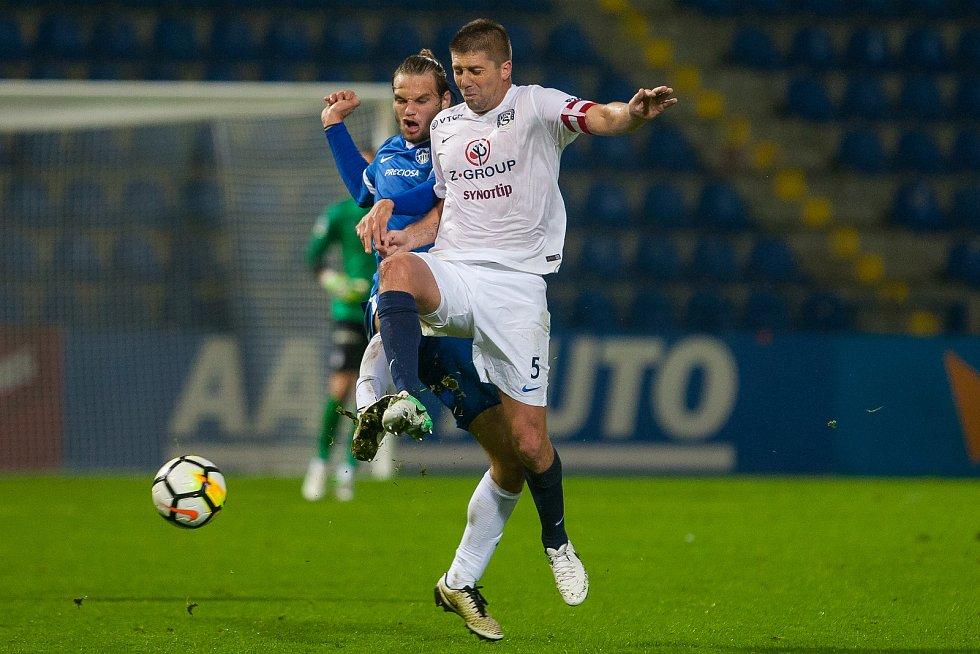 Zápas 8. kola první fotbalové ligy mezi týmy FC Slovan Liberec a 1. FC Slovácko se odehrál 25. září na stadionu U Nisy v Liberci. Na snímku