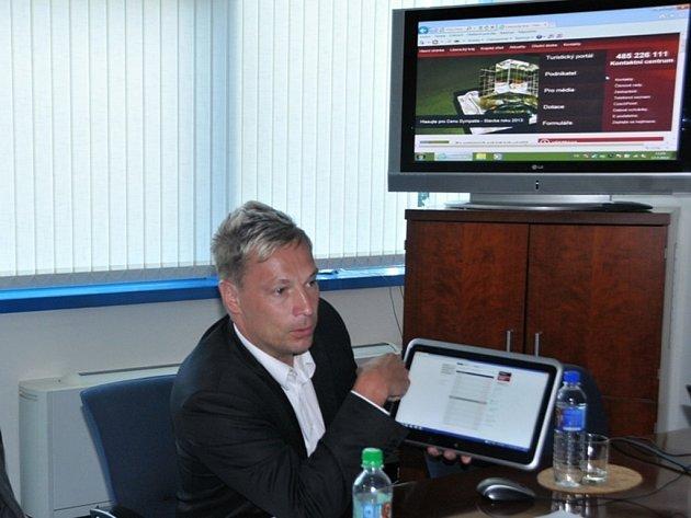 Náměstek Marek Pieter představuje transparentní účet