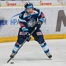 Utkání 23. kola Tipsport extraligy ledního hokeje se odehrálo 19. listopadu v liberecké Home Credit areně. Utkaly se celky Bílí Tygři Liberec a HC Kometa Brno. Na snímku je Jan Stránský.