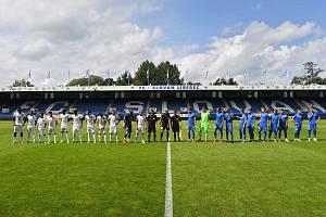 Přípravné utkání Liberec - Kuvajt 5:0.
