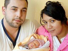 Mamince Erice Balážové z Liberce se dne 21. února se v liberecké porodnici narodila dcera Valentýna. Měřila 47 cm a vážila 2,9 kg.