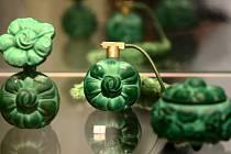 Patrně nejznámější ukázka světově proslulé umělecké krystalerie z Jablonce nad Nisou.