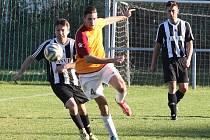 NEDOHRÁNO! Ve Vesci vedly Jindřichovice 4:2, ale zápas nakonec nebyl dohrán kvůli incidentu domácího Hůlky s rozhodčím.