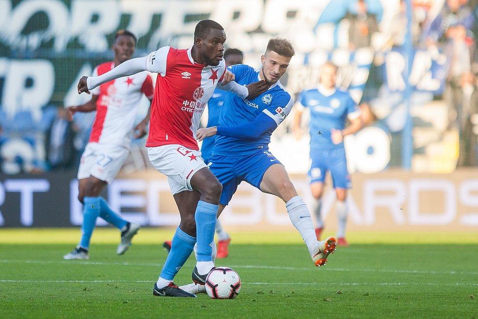 Zápas 12. kola první fotbalové ligy mezi týmy FC Slovan Liberec a SK Slavia Praha se odehrál 21. října na stadionu U Nisy v Liberci.