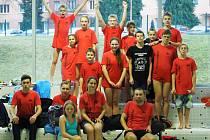 SLAVIE LIBEREC. Plavci na závodech ve Varnsdorfu.