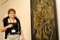 Po téměř sedmi letech bude Polibek smrti od Bohumila Kubišty vystaven znovu v Oblastní galerii v Liberci. Obraz patří k nejvzácnějším dílům galerie.