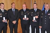 Ocenění převzali zdravotníci, hasiči i policisté