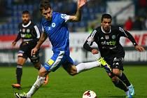 Fotbalisté Liberce v 10. ligovém kole vydřeli výhru nad Příbramí 1:0.