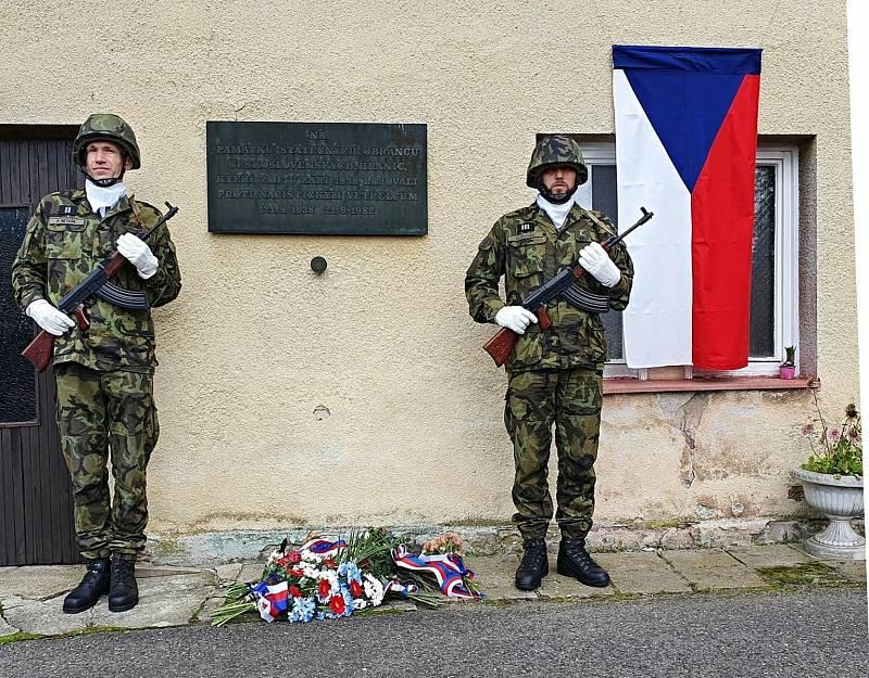 Na Frýdlantsku si připomněli dusivou atmosféru září 1938, kdy v Habarticích Němci přepadli českou celnici.