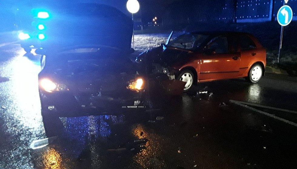 Dopravní nehoda v Kateřinkách.