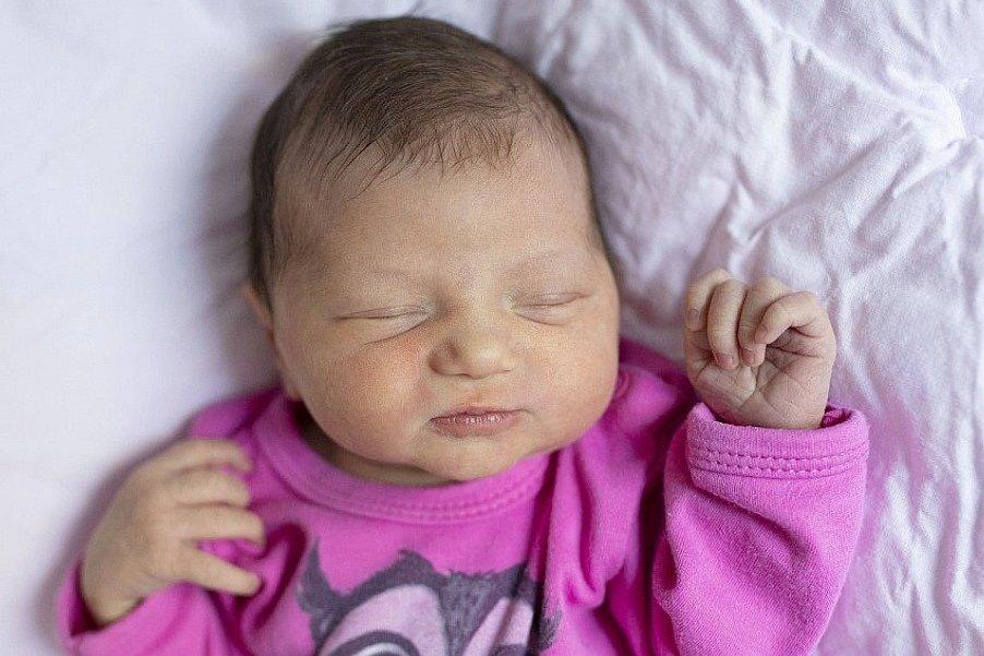 Rodičům Lucii a Jiřímu se ve středu 19. srpna narodila dcera Laura.