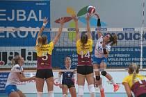 Volejbalistky Liberce vyhrály v Přerově 3:0.