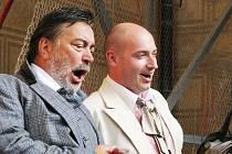 V Donizettiho komické opeře Don Pasquale zpíval hlavní roli starého mládence Luděk Vele.