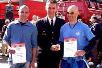 Členové Jednotky sboru dobrovolných hasičů města Frýdlant se v sobotu 9. dubna zúčastnili hasičského závodu ve výběhu do výškové budovy, který se konal v Berlíně.