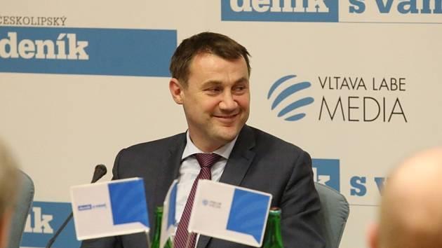 Zdravotnictví v Libereckém kraji – to bylo hlavní téma diskuzního projektu Deníku Setkání s hejtmanem, které se ve středu uskutečnilo v Multifunkčním sále hejtmanství.
