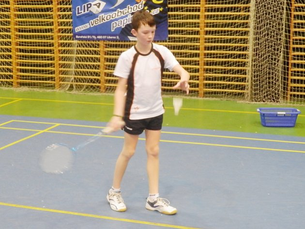 ÚSPĚŠNÍ mladí liberečtí badmintonisté  - Filip Marek