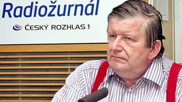 Redaktor BBC a spolupracovník Českého rozhlasu Milan Kocourek.