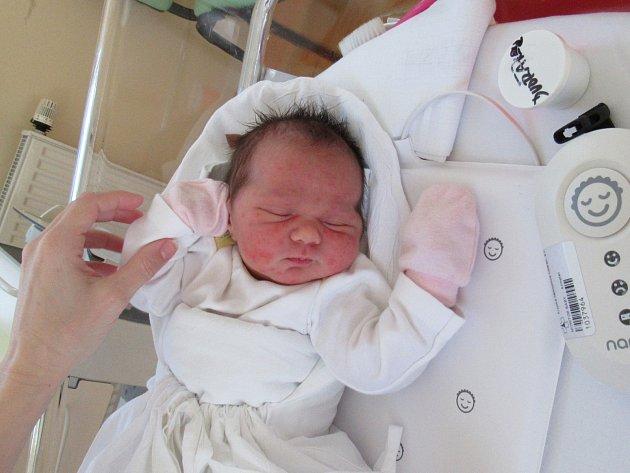 LUCIE DVOŘÁKOVÁ Narodila se 16. května v liberecké porodnici mamince Andree Dvořákové z Liberce. Vážila 3,74 kg a měřila 49 cm.
