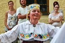 Soubor tradiční lidové hudby z Estonska.