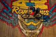 Finále závodu světové série horských kol ve fourcrossu JBC 4X Revelations proběhlo 14. července v bike parku Dobrý Voda v Jablonci nad Nisou. Na snímku je biker Mikuláš Nevrkla.