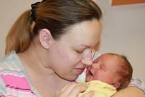 Mamince Kristyně Levčuk z Přepeří se dne 24. února v liberecké porodnici narodil syn Dmitrij. Měřil 50 cm a vážil 3,45 kg.
