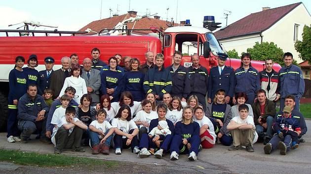 Dobrovolní hasiči. Ilustrační fotografie.