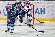 Utkání 9. kola Tipsport extraligy ledního hokeje se odehrálo 1. října v liberecké Home Credit areně. Utkaly se celky Bílí Tygři Liberec a HC Dynamo Pardubice. Na snímku je Petr Kolmann.