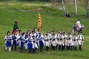 Rekonstrukce bitvy z roku 1757, která byla podle odborníků hlavním milníkem Sedmileté války, se uskutečnila 21. dubna v liberecké části Vesec.