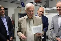 Držitel Nobelovy ceny Jean-Marie Lehn.