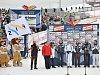 Slavnostní zakončení MS. Příštím hostitelem mistrovství světa v klasickém lyžování se stane za dva roky norské Oslo.