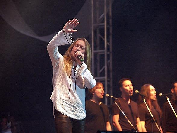 Kamil Střihavka. Vystoupení Jesus Christ Superstar:
