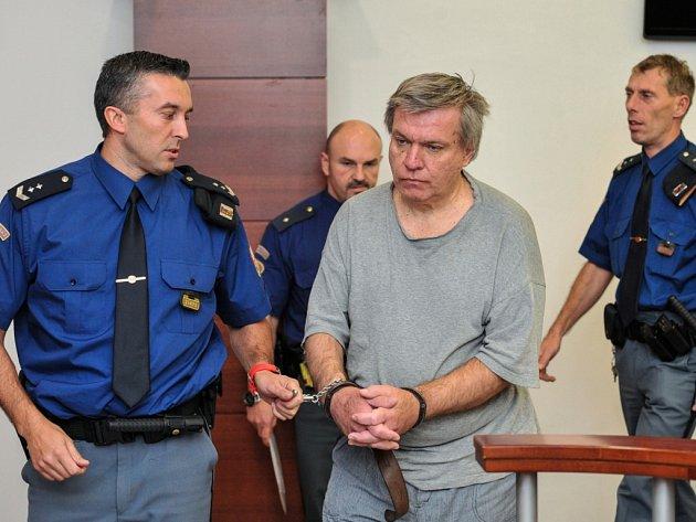 Jaroslav Barták u soudu v Liberci.