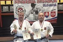Zleva: Milan Vágner a Ladislav Kohout