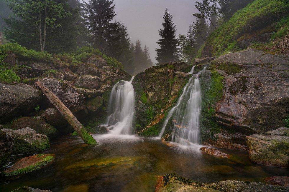 Vodopád na Smědé
