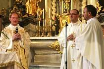 Slavnostní mší oslavili liberečtí věřící 250 let založení kostela Nalezení svatého Kříže v Liberci.