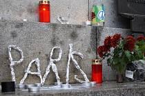 Liberec se připojil k truchlení za oběti pátečního masakru