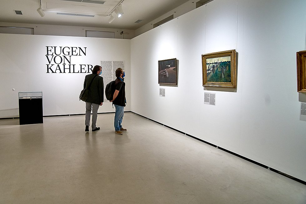 Výstavy v liberecké galerii.