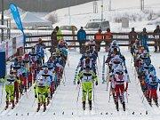 Zahajovací ceremoniál juniorského mistrovství světa.