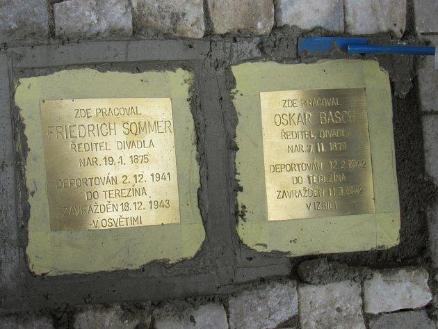Kameny zmizelých židů.