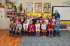 Prvňáci ze Základní školy Liberec, U Soudu 369 se fotili do projektu Naši prvňáci.
