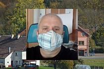 Starosta obce Habartice Stanislav Briestenský.