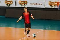 Futsalista Filip Henzl v dresu FTZS Liberec.