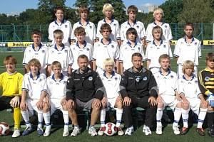 Fotbalisté Slovanu Liberec postoupili do ligy starších žáků.